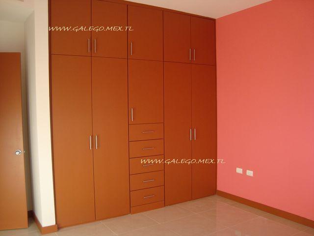 Recamara dos de ni os con closet galego construcciones for Recamaras modernas con closet