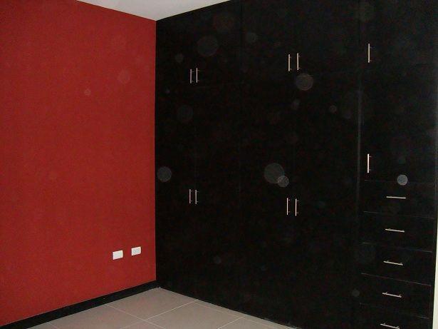Recamara 2 con closet color a escoger galego construcciones for Recamaras modernas con closet